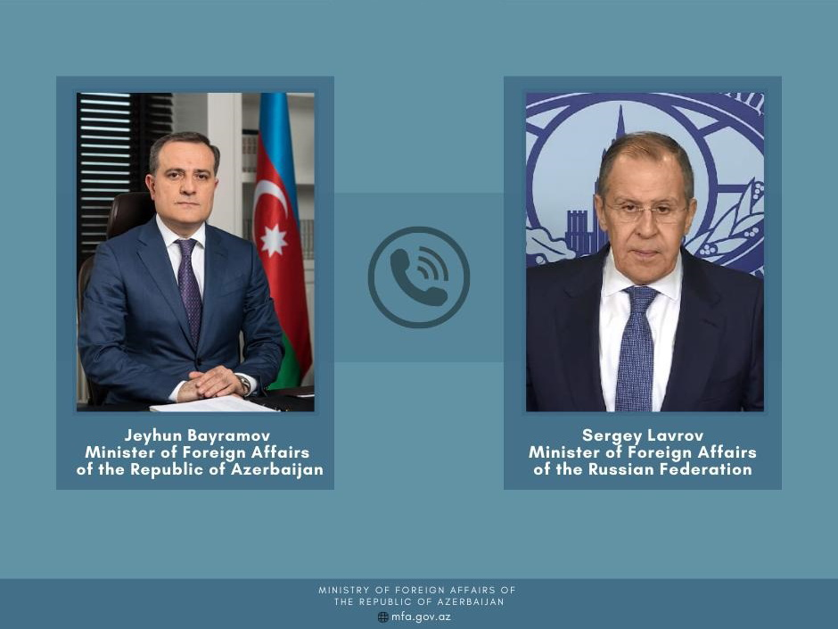 Главы МИД России и Азербайджана обсудили ситуацию в Карабахе