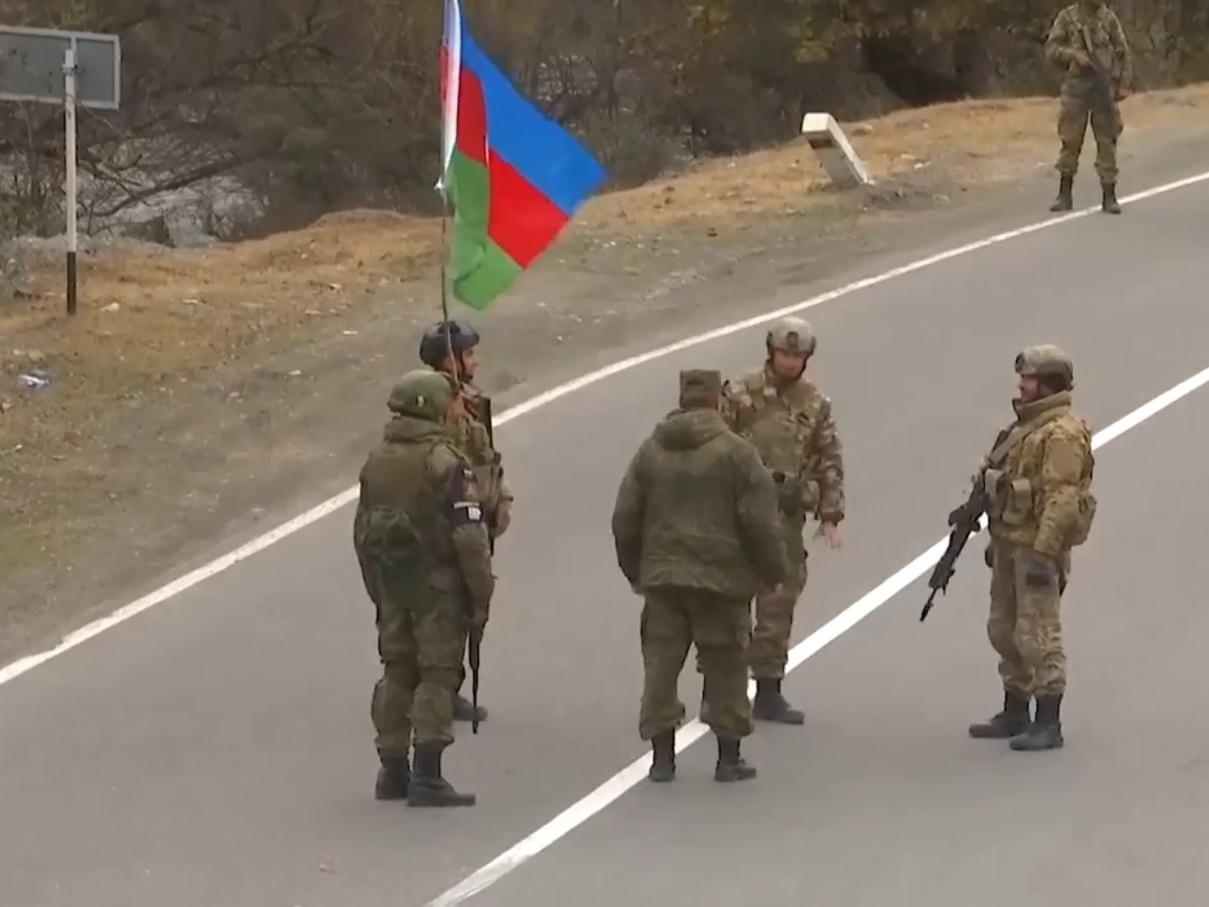 Российские миротворцы обеспечили контроль выполнения трехстороннего соглашения по Кяльбаджару – ВИДЕО