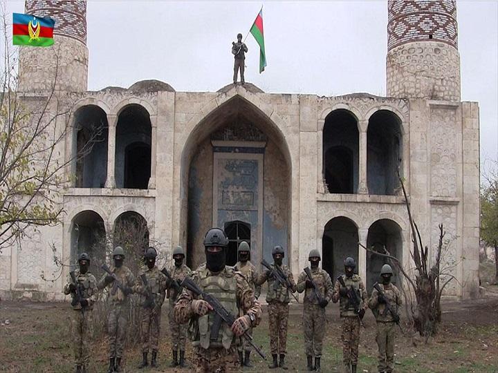 Azərbaycan Ordusu Ağdama bayrağımızı sancdı – FOTO – VİDEO