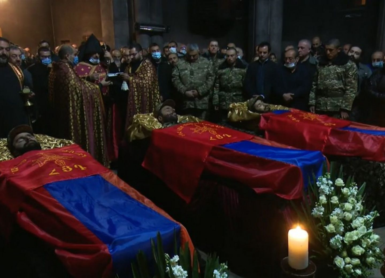Установлены личности еще трех армянских наемников из Сирии, уничтоженных в Карабахе – ФОТО
