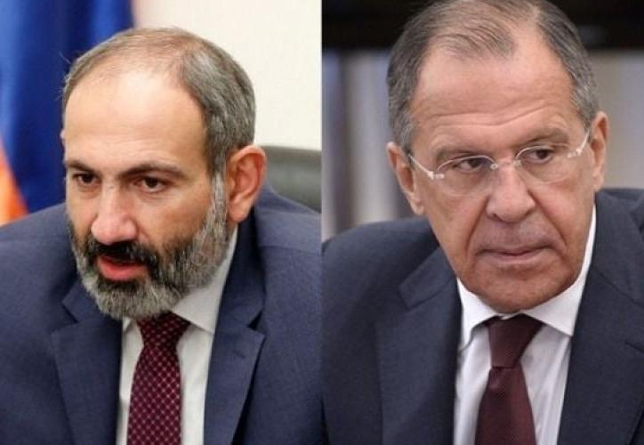 Yerevanda Lavrovla Paşinyanın görüşü keçirilir