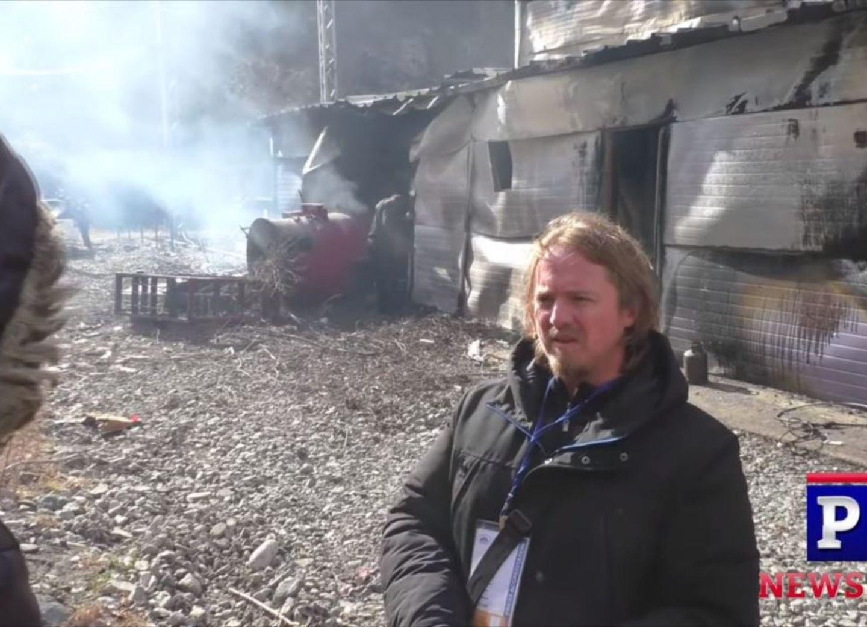 Армяне сожгли в Кяльбаджаре электростанцию – ВИДЕО
