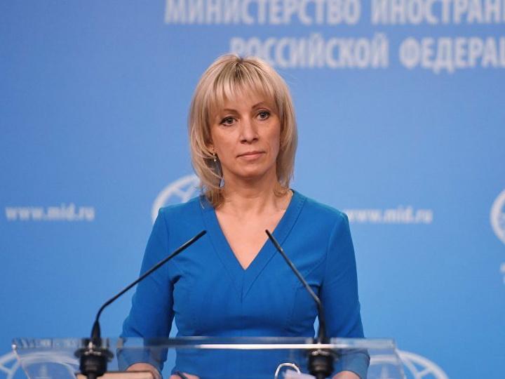 Mariya Zaxarova Bakı aeroportunda koronavirus testi verdi - FOTO