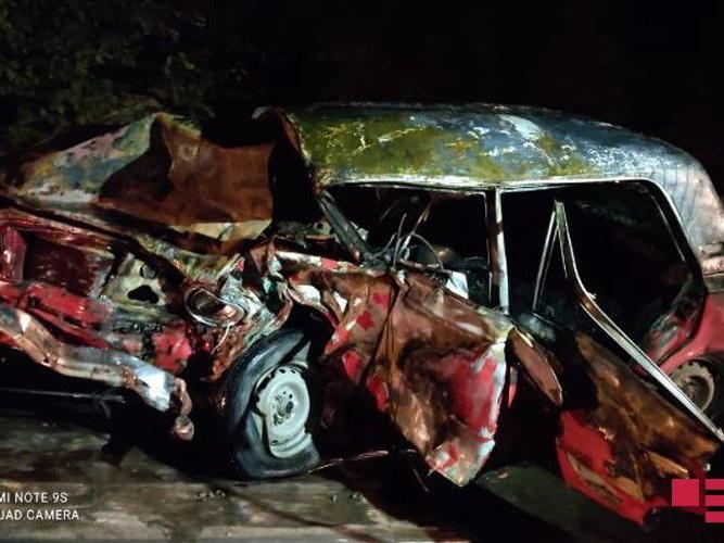 В результате ДТП в Барде погибли два человека, четверо ранены - ФОТО