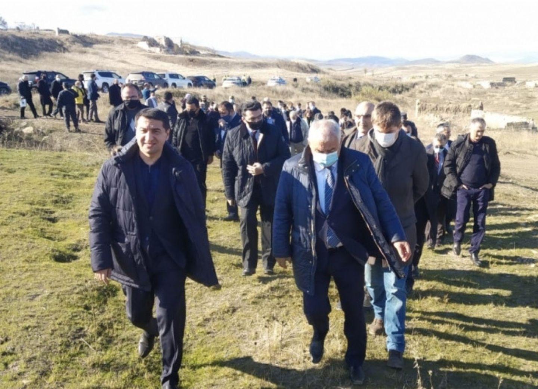 Зарубежные дипломаты ознакомились с вандализмом армян в Физули - ФОТО