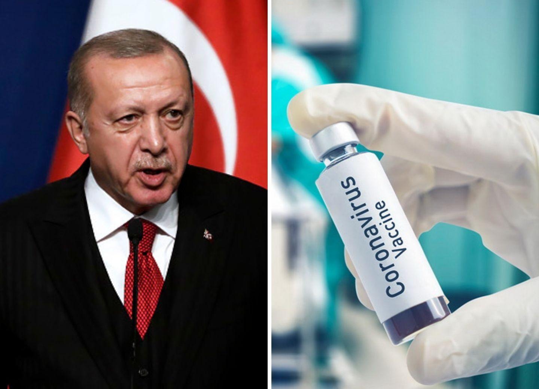 Эрдоган: Вакцина от COVID-19 турецкой разработки будет доступна всему миру