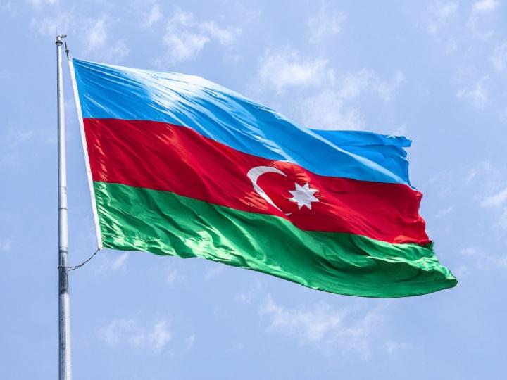 Ağdamın Şelli kəndində Azərbaycan bayrağı ucaldılıb - FOTO