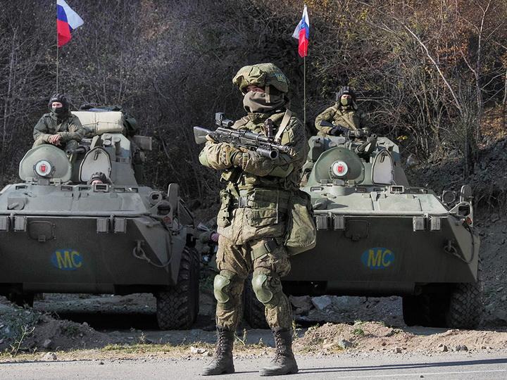 Rusiya sülhməramlısı Dağlıq Qarabağda yaralandı