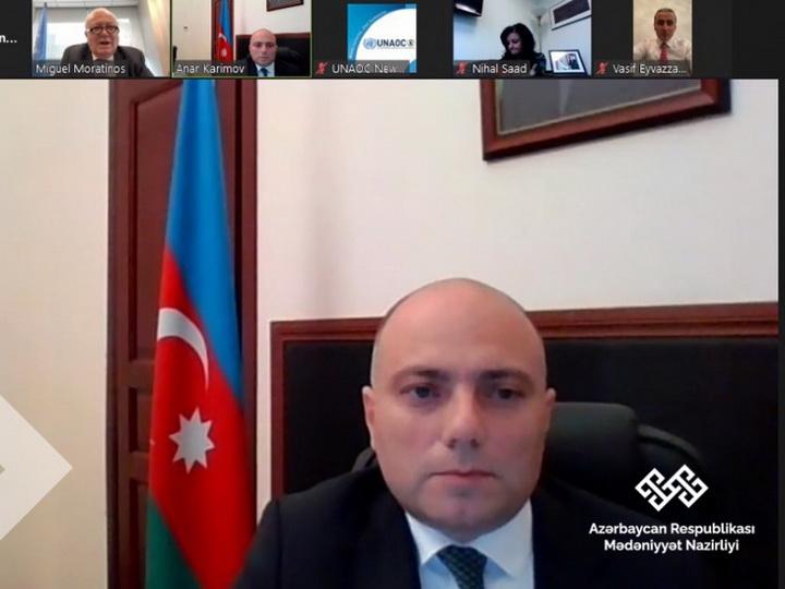 Состоялась встреча и.о. министра культуры Азербайджана с Верховным представителем Альянса цивилизаций ООН