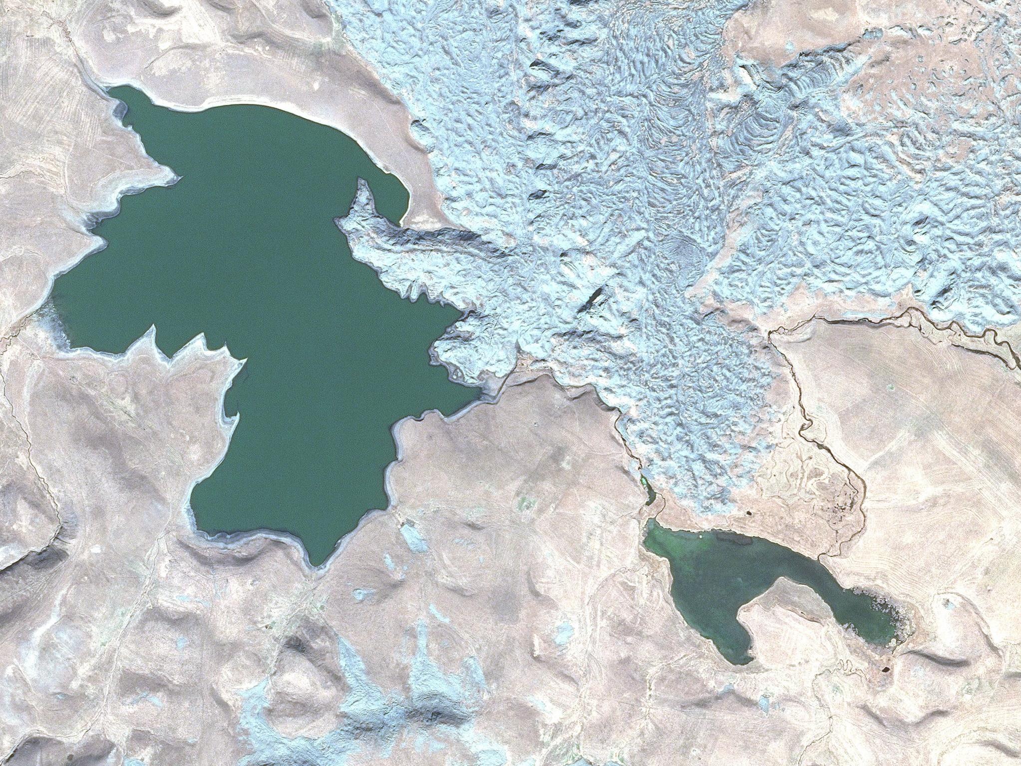 Освобожденный Кяльбаджарский район из космоса – ФОТО