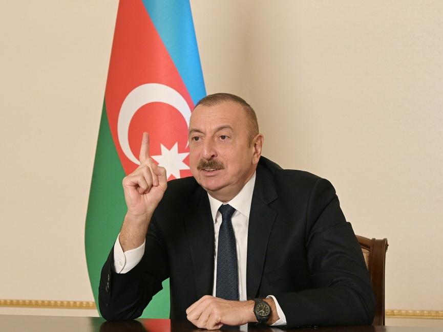 Ильхам Алиев: Посмотрите, с кем, с какими дикарями мы были лицом к лицу!