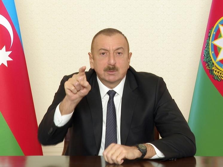Ильхам Алиев: Народный фронт Азербайджана – основной виновник оккупации наших земель