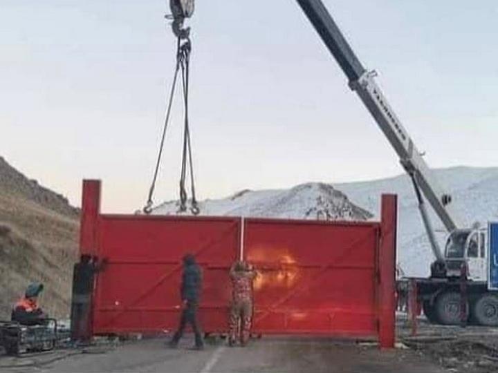 Армении не удалось украсть золото: история с воротами в Кяльбаджаре