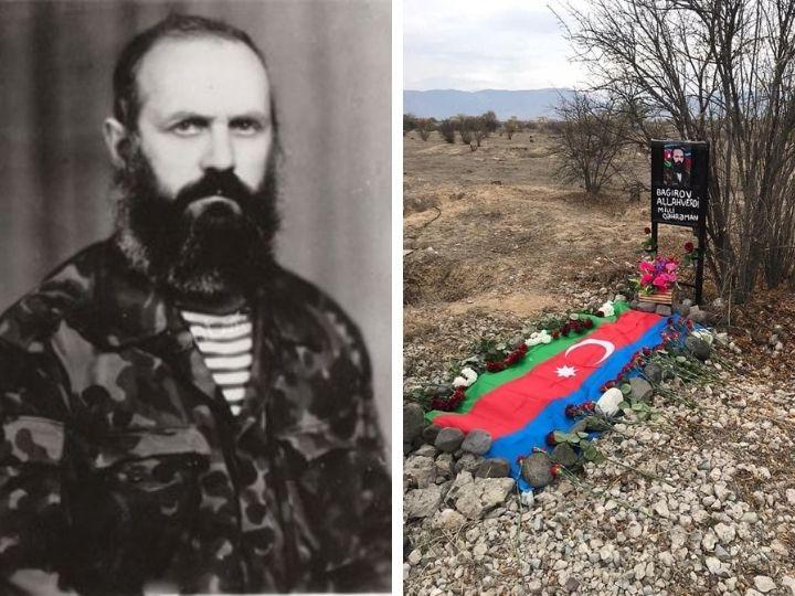 Могила Национального героя Аллахверди Багирова благоустроена впервые за 27 лет - ФОТО