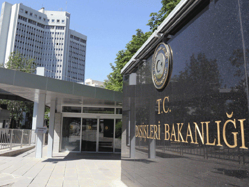 Türkiyə XİN Fransa Senatının qətnaməsi ilə bağlı bəyanat yayıb
