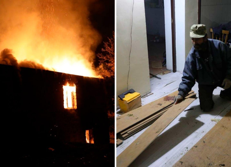 Покидающие Карабах армяне сжигают дома и увозят с собой даже ламинат – ФОТО