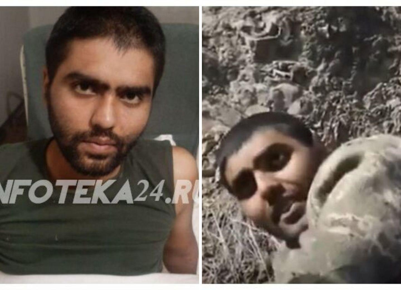 Армянские СМИ распространили фото военнопленного Амина Мусаева – ФОТО