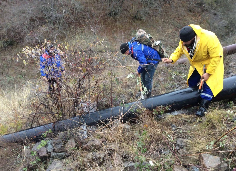 В Шушу начата подача питьевой воды – ФОТО