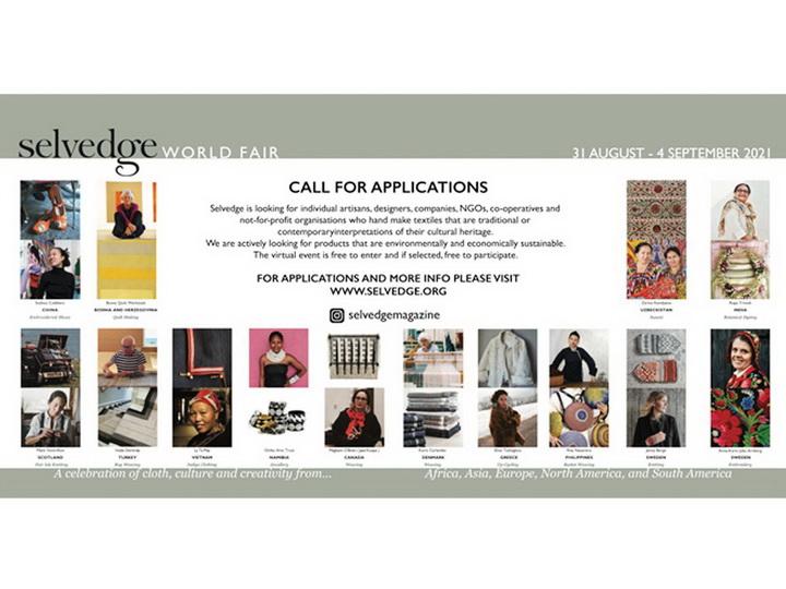 Азербайджанские ремесленники и дизайнеры могут принять участие во Всемирной ярмарке Selvedge - ВИДЕО