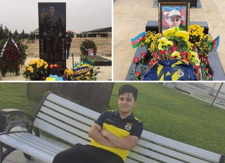 «Фенербахче» почтил память азербайджанского шехида – ФОТО
