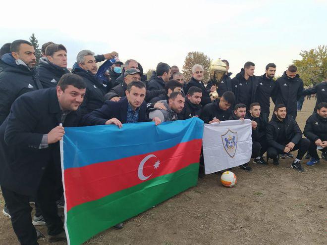 «Карабах» спустя 27 лет провел в Агдаме символический матч на стадионе «Имарят» – ФОТО - ВИДЕО