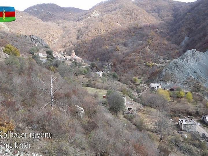 Kəlbəcər rayonunun Vəng kəndi – VİDEO