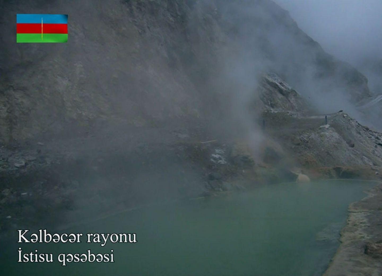 Видеокадры из поселка Истису Кяльбаджарского района - ВИДЕО