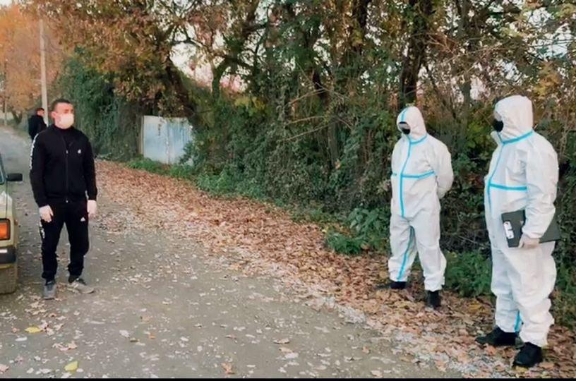 Göyçayda koronavirus xəstəsi yaşadığı evi tərk etdi - Polis saxladı