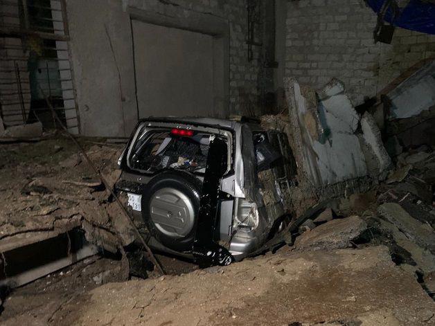 В Хырдалане произошел взрыв, пострадавших нет - ФОТО