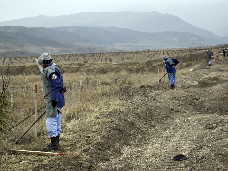 ANAMA: 80 % освобожденных земель опасны с точки зрения нахождения там взрывчатых веществ