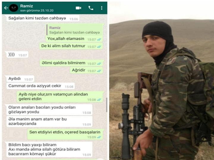 Füzulidə ağır yaralanan, Şuşada şəhid olan Ramiz Ağayevin ailəsinə son mesajı – FOTO – VİDEO