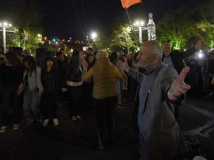 Митинг протеста в Ереване закончился - ВИДЕО – ОБНОВЛЕНО