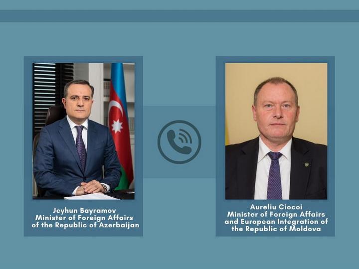 Состоялся телефонный разговор между главами МИД Азербайджана и Молдовы