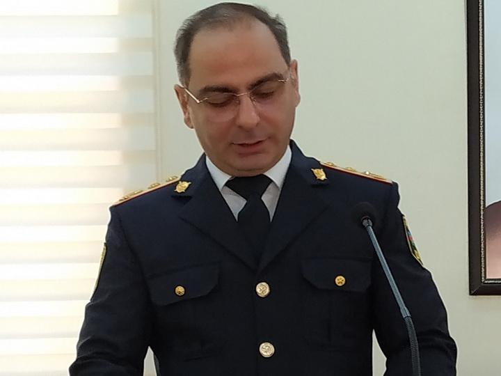 Назначен новый начальник полиции Гянджи - ФОТО