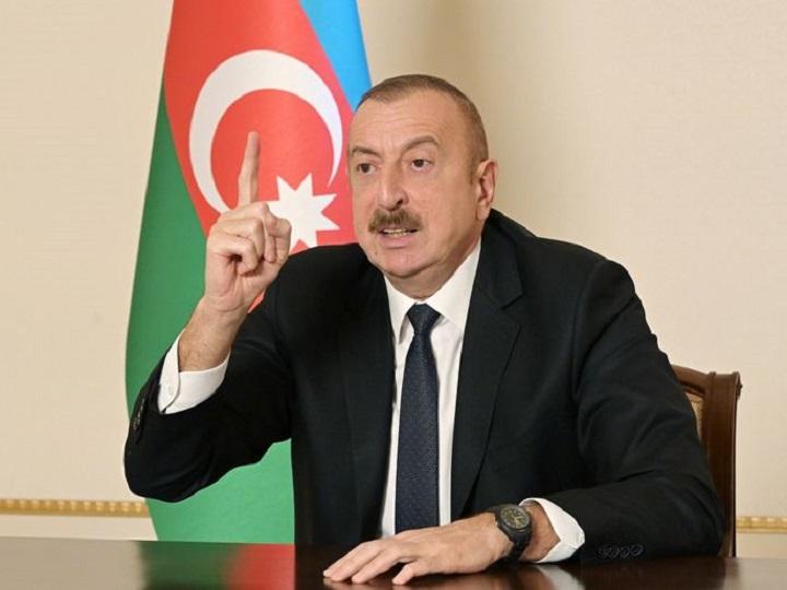 """Azərbaycan Prezidenti: """"Ermənistan cavab verəcək, dəymiş ziyanı ödəyəcək"""""""
