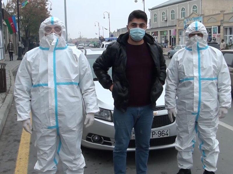 Koronavirus xəstəsi şəhərdə saxlanıldı, cinayət işi açıldı - FOTO