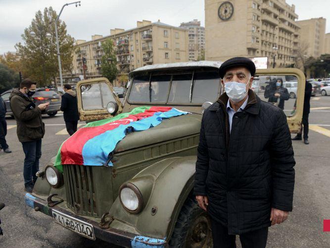 Житель Лачина: «Мы вернемся в родной район на машине, на которой покинули его в 1992 году» - ФОТО