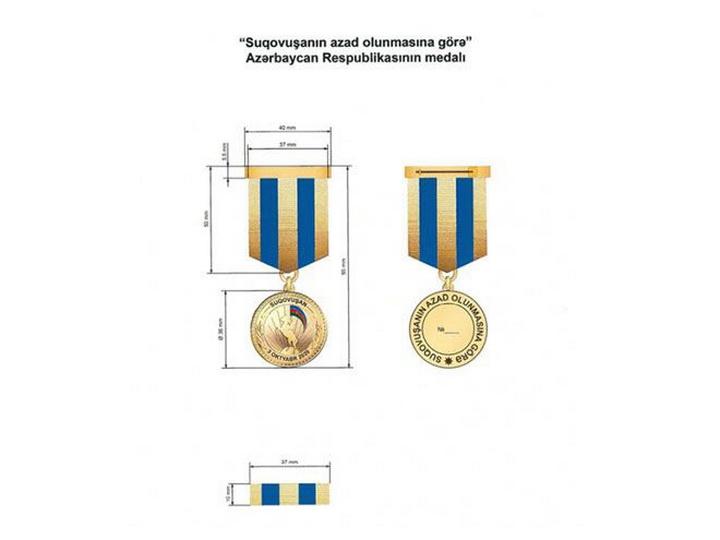 Утверждено Положение о медали Азербайджана «За освобождение Суговушана»