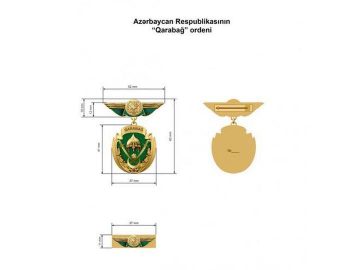 Определен статут ордена «Карабах»