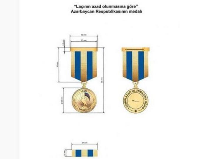 Утверждено Положение о медали Азербайджанской Республики «За освобождение Лачина»