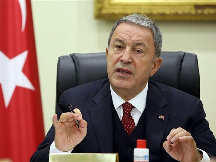 Hulusi Akar: Hazırda Türkiyə-Rusiya Birgə Monitorinq Mərkəzinin tikintisi aparılır