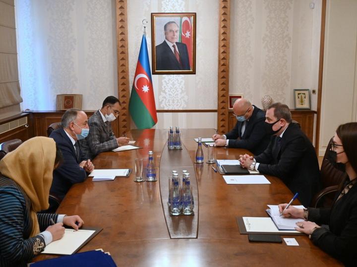 Глава МИД Азербайджана принял копии верительных грамот нового посла Афганистана в Азербайджане - ФОТО