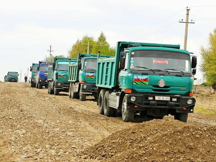 Создаются новые маршруты для связи освобожденных от оккупации территорий с другими районами Азербайджана