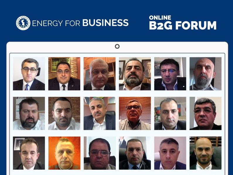 Caspian Energy Club организовал онлайн B2G FORUM с участием Юсифа Абдуллаева