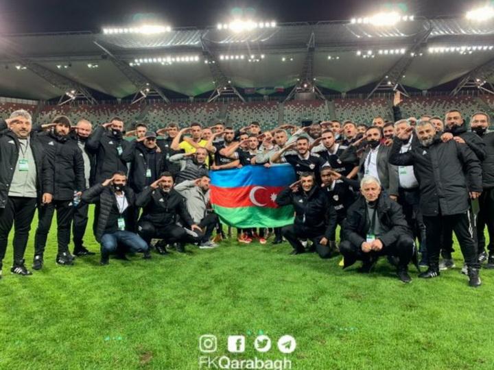 «Карабах» зарабатывает первое очко в Лиге Европы - ОБНОВЛЕНО