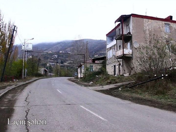 Laçın şəhərinin VİDEOGÖRÜNTÜLƏRİ