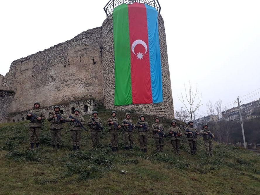 Azərbaycan Ordusunda Vətən müharibəsi şəhidlərinin xatirəsi anılıb - FOTO - VİDEO