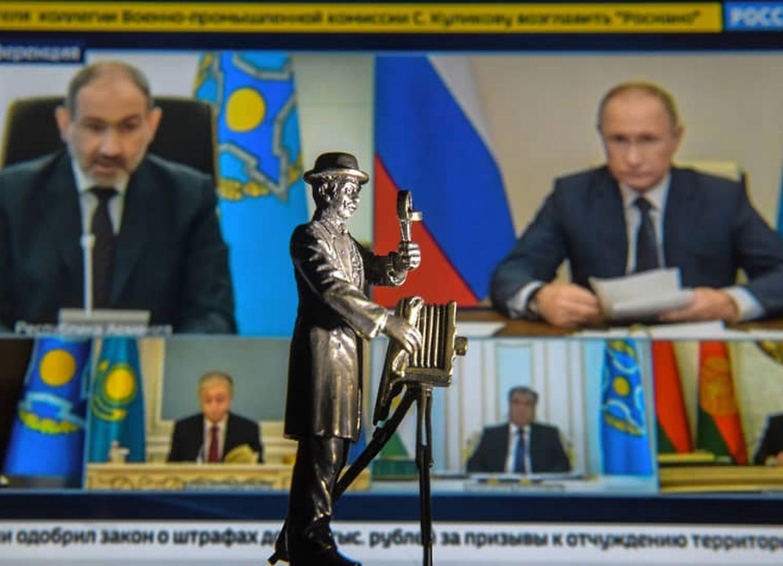 «Коммерсантъ» о том, как Пашинян опозорил себя на саммите ОДКБ - ВИДЕО