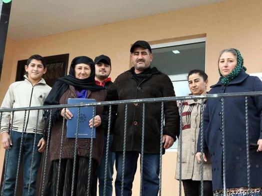 В шести городах и районах Азербайджана семьям шехидов и инвалидам Карабахской войны было предоставлено жилье – ФОТО