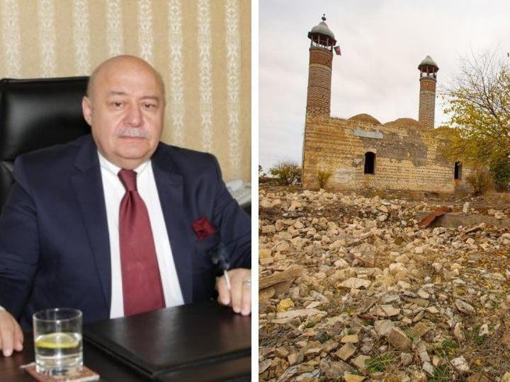 «Разрушившие мечети Иревана армяне вопят о церквях-новоделках в Карабахе»: Жесткий ответ Эльбая Гасымзаде – ФОТО